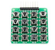 MCU Extension 4 x 4 16-Key Matrix Keyboard Module for (For Arduino) (Works with Official (For Arduino) Boards)
