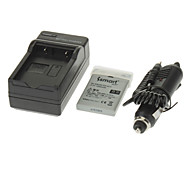 ismartdigi 1050mAh Camera Battery+Car Charger for NIKON E4200E7900 E5900 P520 P51