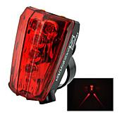 FJQXZ Laser Waterdichte Red Light Tail Waarschuwing Safety Light