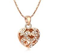 Coeur en cristal To Love collier pendentif