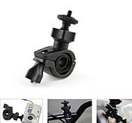 1 / 4 Car Motorcycle Bike Bicycle Plastic Mount Holder for DV / Camera - Black