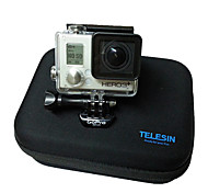 TELESIN Black EVA+Sponge Small Size Case for Gopro Camera Accessories