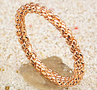 The Second Knuckle Twist Ring(Ring Size 8)
