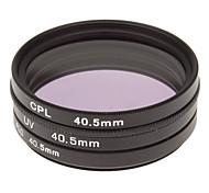 CPL + UV + Filtro FLD Ajuste para la cámara con filtro de bolsa (40.5mm)