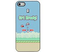 El principio del patrón popular juego duro caso para iPhone 5/5S