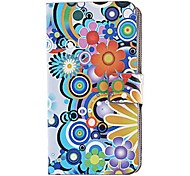 Flores alrededor de la funda para iPhone 4/4S