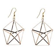 3D Star Earrings
