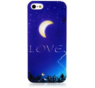 Night Sky Pattern Silicone Soft Case for iPhone4/4S