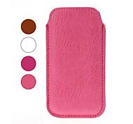Solid Color Leather Case for iPhone 4/4S/5/5S/5C