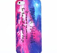Hakuna Matata Plastic Back Case for iPhone 4/4S