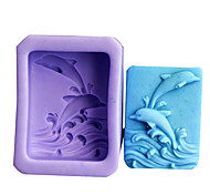 Two Whole Whales Silicone Fondant Cake Mold