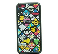 Cartoon Character Pattern Hard Case for iPhone 5C