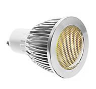 GU10 5 W COB 400 LM Cool White Dimmable Spot Lights AC 220-240 V