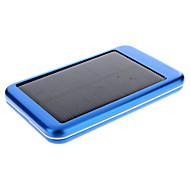 5000mAh Solar Azul bateria externa para dispositivos móveis