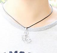 z&x® gotische (Skorpion) schwarzes Leder Halskette (1 PC)