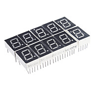10-Pin 7 segmentos LED rojo Display Cátodo Común (10 PCS)