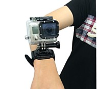 New Arrival 360 degrees rotation Wrist Strap Band Mount for Waterproof Housing Case of GoPro Hero 2,3,3+