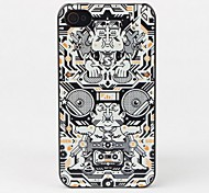 Cassette and DJ Protective Back Case for iPhone 4/4S