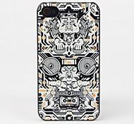 Cassette e la causa DJ di protezione per iPhone 4/4S