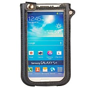 Fashion Touchable Stand Pouch Leather Case With a Strap for Samsung Galaxy S4 I9500