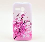 Spicebush Flower Pattern Soft Case Cover for Moto G
