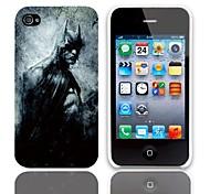 Man Entwurfs-harter Fall mit 3-Pack-Display-Schutzfolien für das iPhone 4/4S