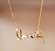 Sweet LOVE Pendant Necklace