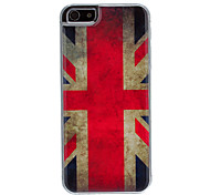 The Union Jack Pattern Epoxy Hard Case for iPhone 5/5S