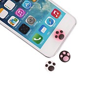 Footprint Silicone Home Button Stickers for iPhone and iPad
