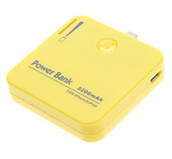 WT-IP5A 2200mAh External Battery for iPhone 5 Yellow