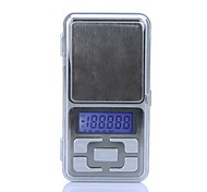 Alta Precisión Mini electrónico digital joyería Escala del bolsillo de pesaje Balanza portátil 500g/0.1g