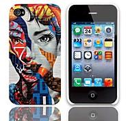 Disegno speciale del modello della donna Hard Case con 3 Paia protezioni per iPhone 4/4S