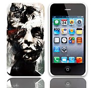 Statuary Design Hard Case with 3-Pack Screen Protectors for iPhone 4/4S