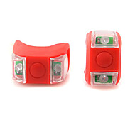 Bike Light , Rear Bike Light / Bike Lights - 3 Mode Lumens Waterproof Cell Batteries Battery Cycling/Bike Red Bike Others