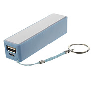 2200mAh Mini Column Shape Polymeride Smart Power Bank voor mobiele telefoons en pads ()
