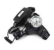 LT-1 * T6 3-Mode 1xCree XM-L T6 Proyectores (2x18650, 900LM)