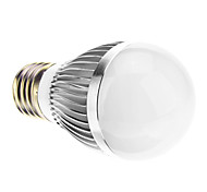 E26/E27 6.5 W SMD 580 LM Natural White Globe Bulbs AC 220-240 V