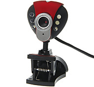 Triangle Shaped Desktop 8 Megapixel Webcam with Mic Night Vision LED
