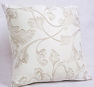 Country Trumpet Flower Pattern Decorative Pillow With Insert