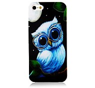 Lovely Nightingale Pattern Silicone Soft Case for iPhone4/4S