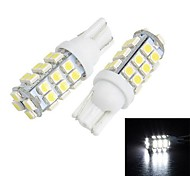 Merdia T10  28-SMD 1210 LED for Car  White Light  License Plate Lamp / Reading Lamp(pair)
