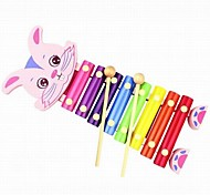 Baby  Educational Toys Wooden Rabbit Mini Piano