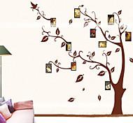 1pcs colorido adesivo de parede memorytree