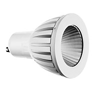 9W GU10 LED Spotlight 1 COB 720 lm Cool White AC 85-265 V