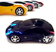 2.4G Wireless Super Car Pattern Mute Optical Mouse(Assorted Colors)