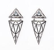 3D Trangele Earrings