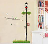 1pcs colorido adesivo de parede de corredor