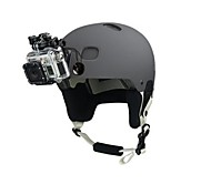 Sicurezza Nero Buckle Tethers per GoPro Hero 3 + / 3 / DV