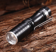 LED Flashlights/Torch / Handheld Flashlights/Torch LED 3 Mode 150 Lumens Waterproof / Rechargeable / Tactical / Compact Size / Small Size
