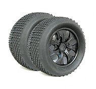 High Quality Rubber Tyre for 1:8 RC Truck (2 pcs)